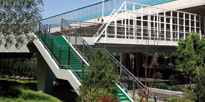 市政配套工程.天桥护栏广告牌