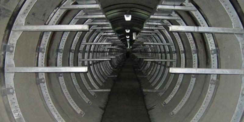 异形弧形电缆支架工程示例